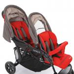 Коляска для двойни Baby Care Tandem (red)